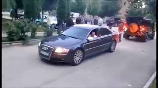 Audi A8 4 2L Destroyes  Land Rover defender  in TUG OF WAR in ALBANIA