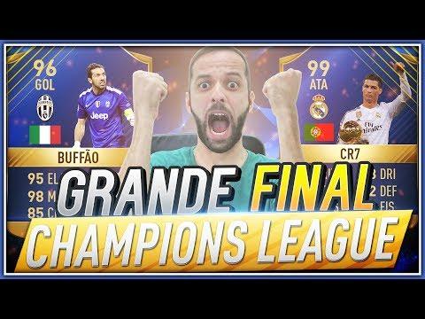 FUT DRAFT DA GRANDE FINAL DA UEFA CHAMPIONS LEAGUE 2017