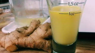 Raw Ginger Juice   Hangover Cure