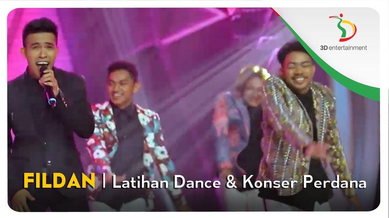Fildan - Latihan Dance & Konser Perdana