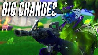 The new FORTNITEMARES update.. (Everything that Changed)