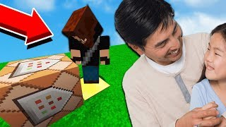 DAUGHTER SENT ME TO TROLL HER DAD ON MINECRAFT!