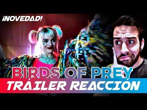 TRAILER REACCION(TEASER):Birds of Prey | Harley Queen | DC |