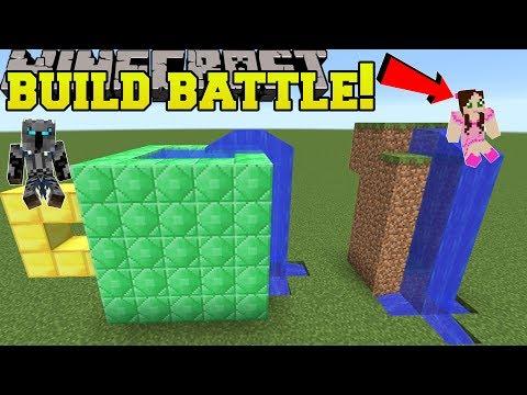 Minecraft: BUILD BATTLE!!! - OPPOSITE CHALLENGE! - Mini-Game