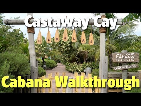 Cabana Walkthrough With Pete | Disney's Castaway Cay