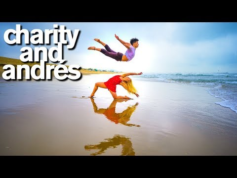 World of Dance Stars Charity and Andres CRUSH 10 Minute Photo Challenge