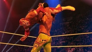 Sin Cara vs. Curt Hawkins: Raw, June 11, 2012