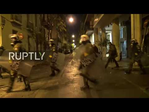 LIVE: Tensions rise in Athens on anniversary of the Polytechnic Uprising in Greece