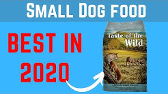 ✅ Best Dog Food for Small Dogs in 2020 | Best Healthy Dog Food.