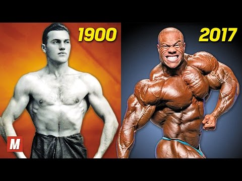 Thumbnail: Evolution of Bodybuilding | From 1900 To 2017