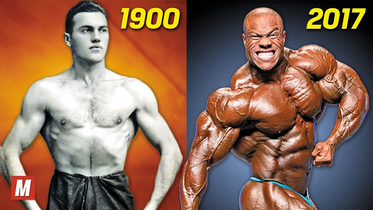 How bodybuilders have changed over the years