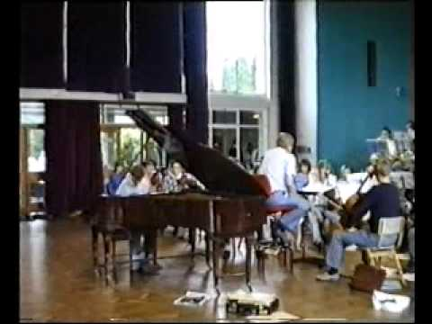 Cheshire County Youth Orchestra 1987