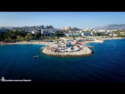 (4k) Beach Life in Split, Croatia
