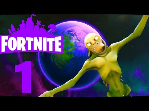 [1] Zombies In Space! (Fortnite With Friends)