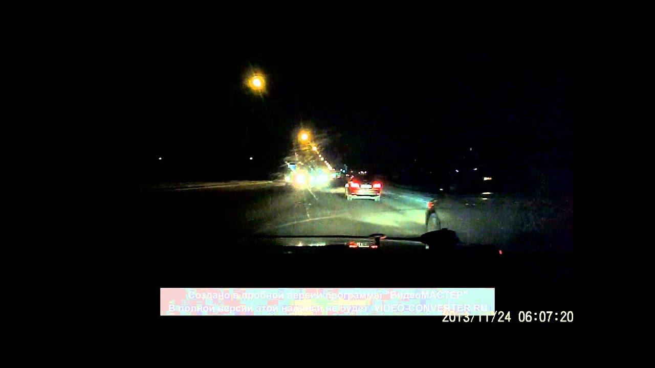 ублюдок на дороге в кемерово,опасный обгон с права