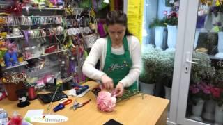Как сделать фальш-букет из гвоздик своими руками. Свадебный букет из гвоздик