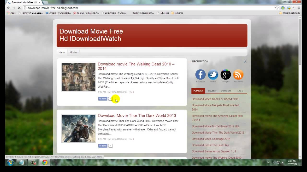 Download Free Movies HD With Direct Link - RedonApp com