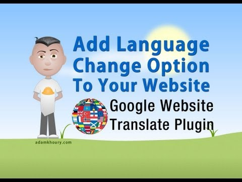 Website Language Translator Google Plugin Tutorial Add Code And Style