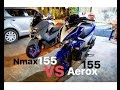Yamaha AEROX 155/NVX vs NMAX 155!!! Which is Better?