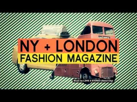 [NYLON TV KOREA] NY+LONDON FASHION MAGAZINE NYLON (advertising)