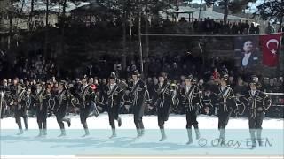 20. Şavşat Veliköy Kar üstü Karakucak Güreşleri Halk Oyunları Gösterisi