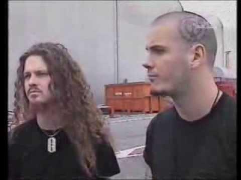 Pantera: Headbangers Ball Interview with Phil Anselmo & Dimebag Darrel - Paris, France (1992)