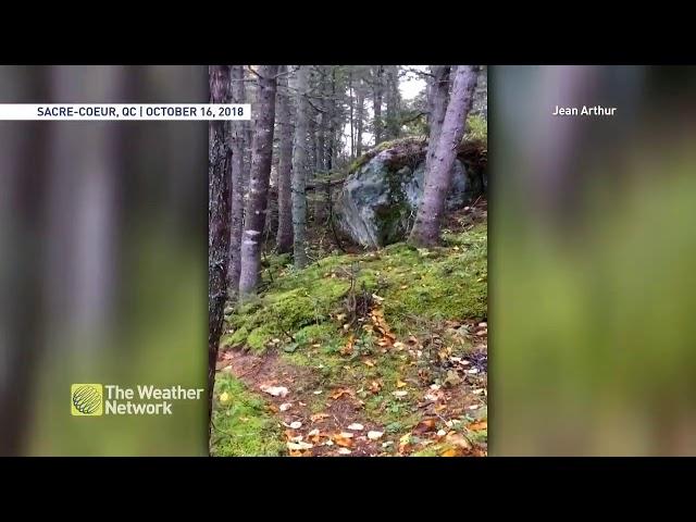 De nuevo un impactante vídeo muestra cómo la Tierra respira
