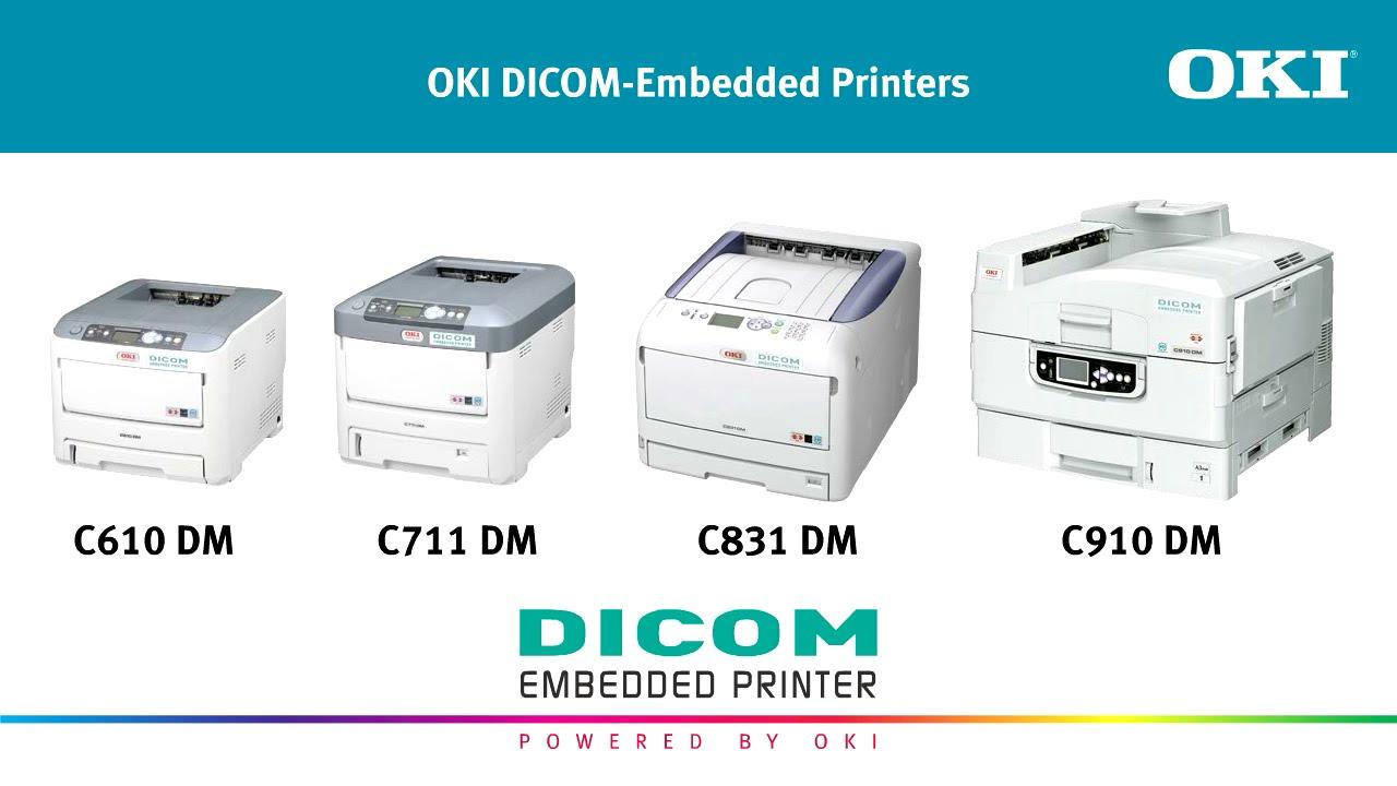 f42fbd668 OKI DICOM Printers - YouTube