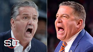 Top-10 teams Kentucky and Auburn upset by unranked opponents | SportsCenter