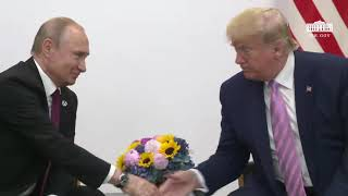 President Trump Participates in a Bilateral Meeting with the President of the Russian Federation
