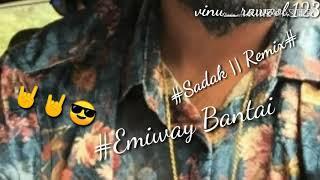 #Emiway bantai | #sadak remix | #Sadak