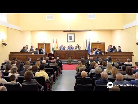 VÍDEO: Acto oficial de entrega de Banderas de Andalucía del Ayuntamiento de Lucena 2020 (Completo)
