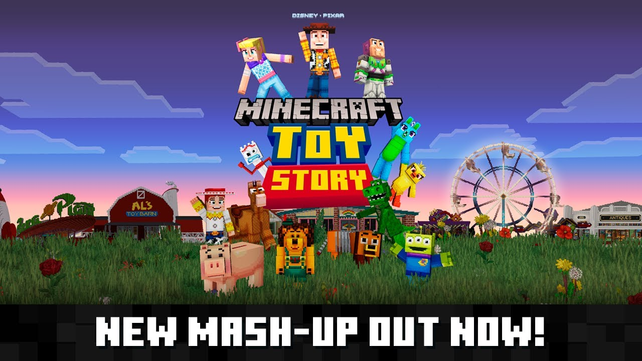 Video - Toy Story Mash-Up | Minecraft Wiki | FANDOM powered by Wikia