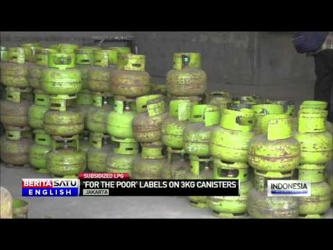Indonesia to Institute Strict Controls on Sales of 3 KG LPG Tank