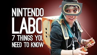 7 New Things We Learned About Nintendo Labo (by Playing With Nintendo Labo)