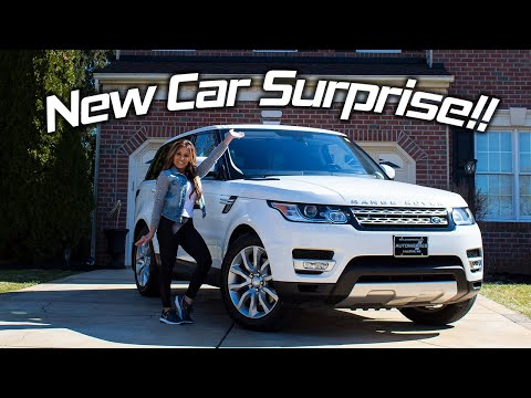 I SURPRISED MY WIFE WITH A RANGE ROVER!!!