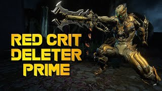 Warframe: RED CRIT 100% STATUS REDEEMER PRIME   DELETES EVERYTHING IN SECONDS!
