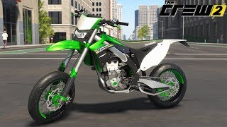 The Crew 2 - Kawasaki KX450F (CUSTOMIZATION & FREE RIDE)