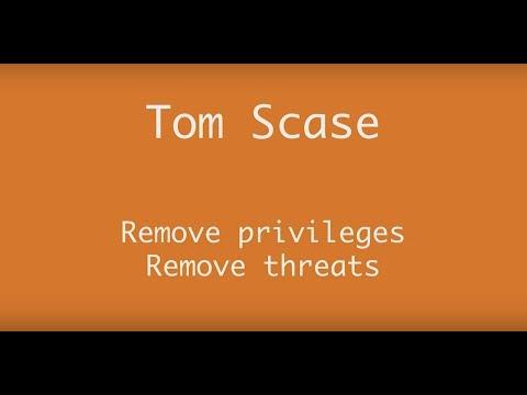 AppManagEvent 2017 session: Remove privileges, remove threats