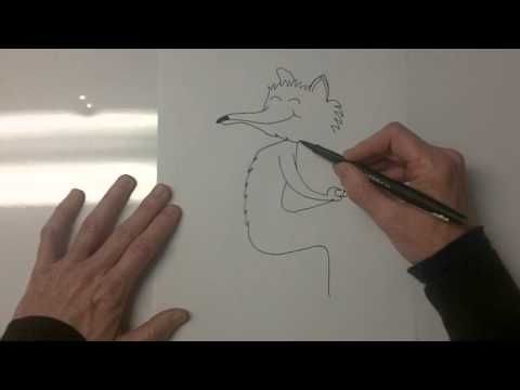 How To Draw Fantastic Mr Fox Youtube