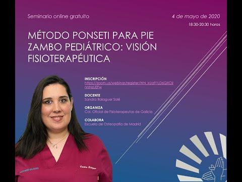 Método Ponseti para pie zambo pediátrico: visión fisioterapéutica