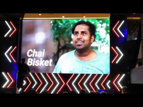 chai-besket-live-performance#youtube-fan-fest-hyderabad-2019@manikanta-vlogs