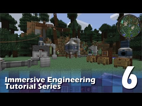 Immersive Engineering Tutorial #6 - Fluid Handling
