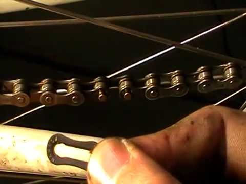 Shimano HG40 'Quick' link Chain Installation