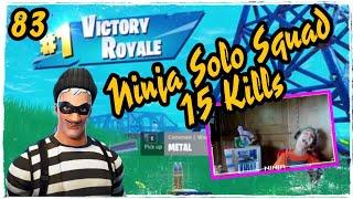 Ninja Scoundrel Skin Fortnite Solo Squad Game Play