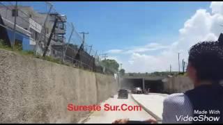 Recorrido por el túnel sumergido en Coatzacoalcos video 2