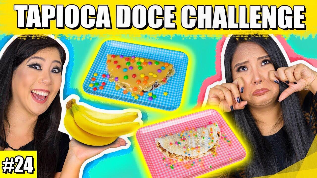 TAPIOCA DOCE CHALLENGE #ESPECIAL3EM1 | Blog das irmãs