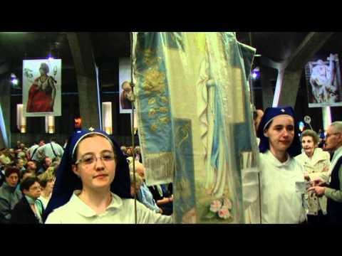 Lourdes 2011 : Oftal Casale Monferrato (Italia), messa internazionale