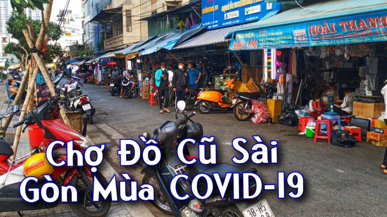 Đồ nhật bãi.Chợ Đồ Cũ Nhật Sài Gòn Mùa COVID- 19