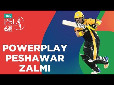 Peshawar Zalmi Powerplay | Multan Sultans vs Peshawar Zalmi | Match 5 | HBL PSL 6 | MG2T